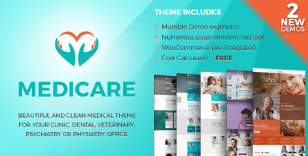 Medicare v1.1.3 – медицина и здоровье WordPress шаблон