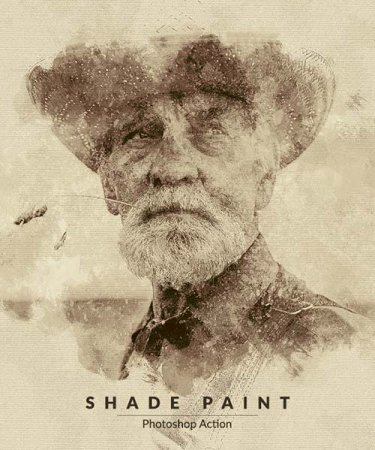 Shade Paint Photoshop Action