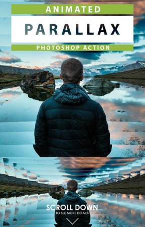 Animated Parallax Photoshop Action