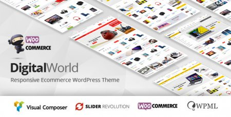Digitalworld v1.0.7 - Универсальный шаблон WordPress