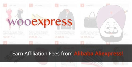 WooExpress v1.2.1 - WP Woocommerce Плагин для партнеров Aliexpress