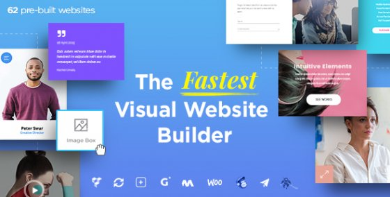 Massive Dynamic v4.1 - WordPress Website Builder