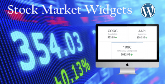 Stock Market Widgets v1.0.9 для WordPress Плагин
