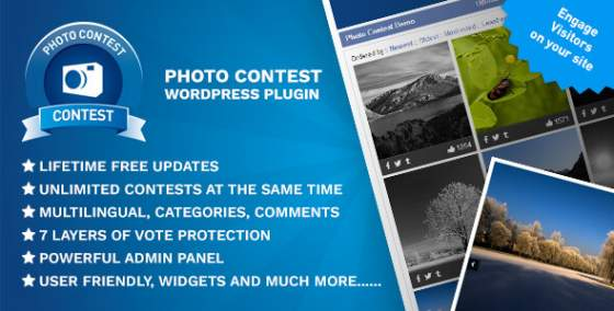 Photo Contest WordPress Plugin v2.7