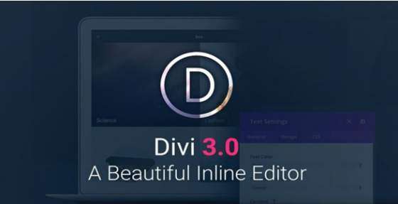 Divi v3.0.71 - Elegantthemes Премиум Wordpress шаблон